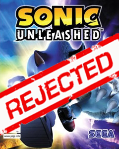 Sonic Unleashed: REJECTED