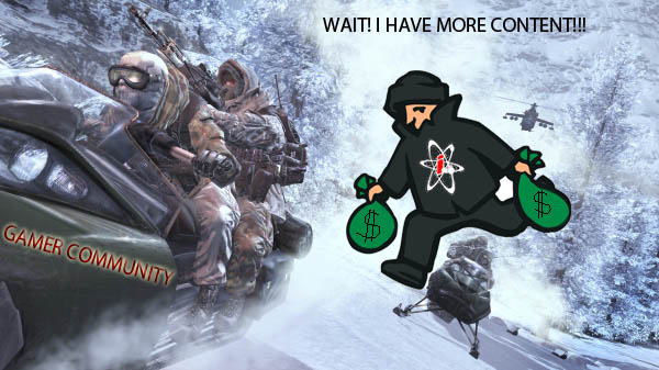 does infinity ward care you don't want to pay more? nah.