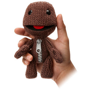 littlebigplanet sackboy plush