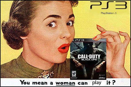call of duty is for girls too