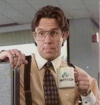 bill lumbergh from office space: neither a great nor challenging boss
