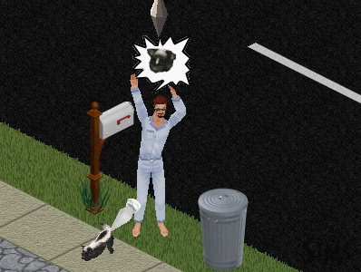 sims 2: skunk attack