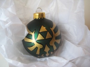 zelda christmas ornament