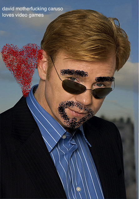 got a murder to solve? maybe david caruso is your man.