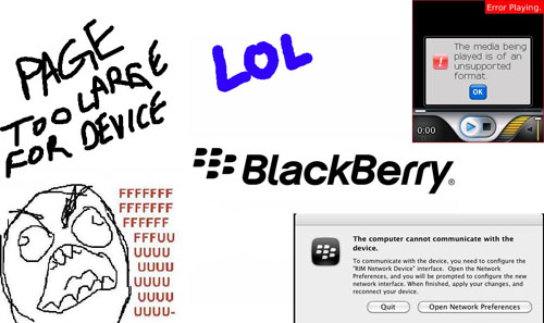 don't ever buy a blackberry.