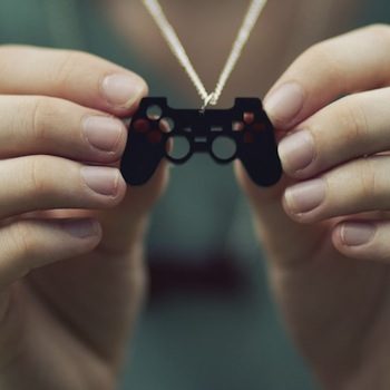 ps3 controller necklace